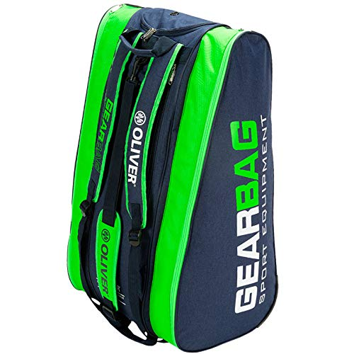 Oliver Gearbag Blue-Green Racketbag Tennis Squash Badminton