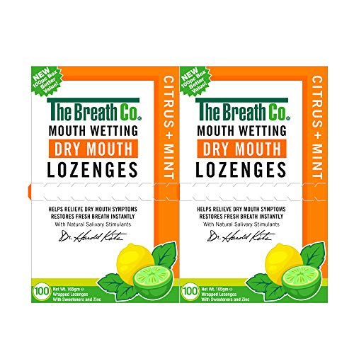 The Breath Co Dry Mouth lozenges