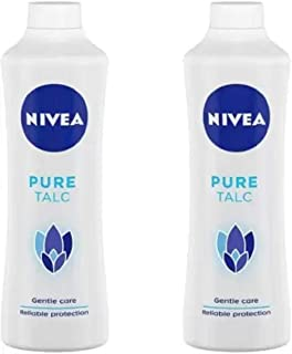 Nivea PURE TALC 400 G (PACK OF 2) #10 (2 x 400 g)