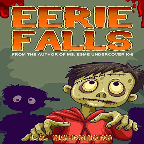 Eerie Falls audiobook cover art