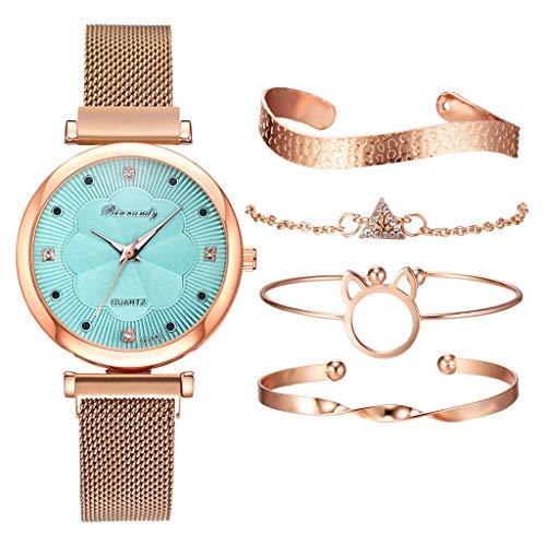 Ladies watch and bracelet set