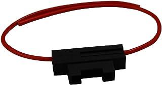 Aerzetix: Fassung für KFZ Sicherung 19mm 20A max 2.5mm2 Halter Sicherungshalter für Sicherungen