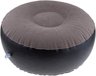MagiDeal Portable Air Inflatable Stool Chair Sofa Ottoman for Camping Fishing Bedroom