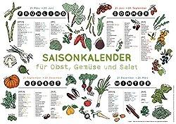 Gemüsekalender Saisonkalender Gemüse Kochenohne
