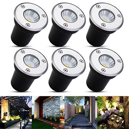 B-right B-right® 6er LED Bodeneinbaustrahler, 3W Bild