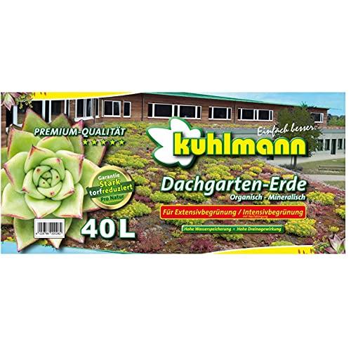 KUHLMANN Premium Dachgartensubstrat von Dalhoff   40 L