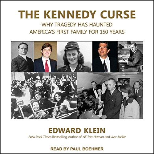 The Kennedy Curse audiobook cover art