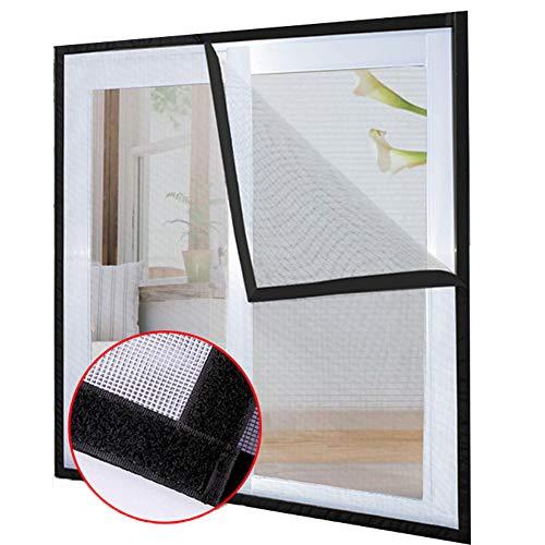 Duchen Katzenschutz-Fenstergitter mit selbstklebendem Klebeband, Balkon-Fenster-Sicherheitsgitter für Katzen, Fliegengitter Moskitonetz, DIY-Größe