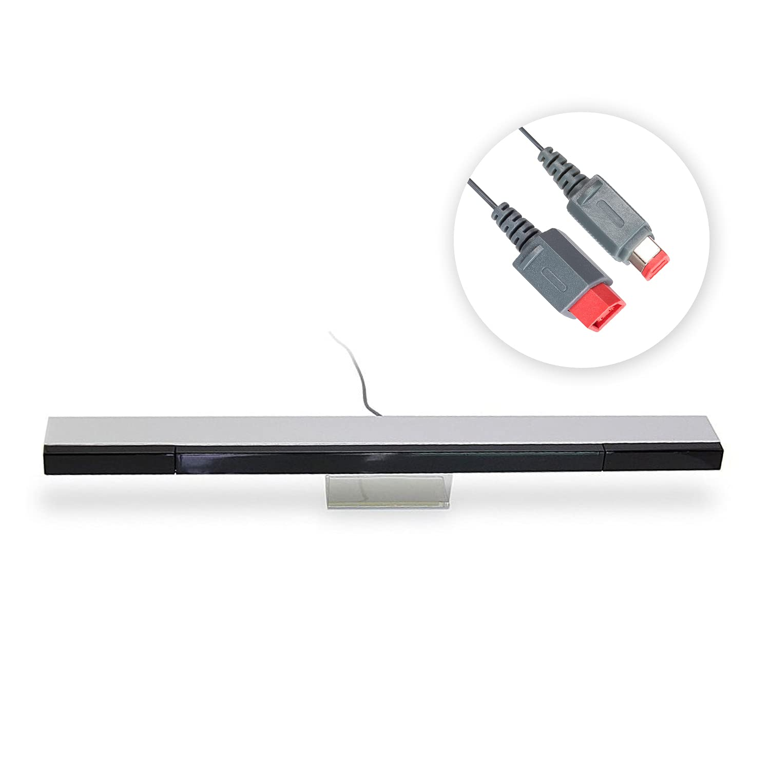 New sales Outstanding EVORETRO Wii Sensor Bar Wide Infrared Receiver Compatibility Wir