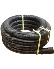 φ50mm 暗渠排水管 (全有孔) φ50×長さ10m 内径50mm 1巻(ソケット1個キャップ1個)) (Φ50 10M品)