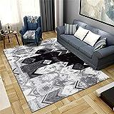 Kunsen Cuadros Decoracion Salon Grandes alfombras Infantiles Alfombra de Sala, Dormitorio, Estudio. Cuadros cabecero Cama Matrimonio 2ft 7.5' X5ft 3'