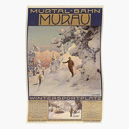 1910S Advert Art Travel Retro Vintage I Retro Fashion - Impressive Posters for Room Decoration Printed Trendy