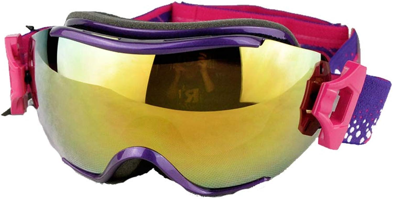 LEYOUDIAN Yanjing Professionelle Skibrille für Einzel- und Doppelbretter. Doppelte Anti-Fog- und Anti-UV-Skibrille für Erwachsene für Mnner und Frauen
