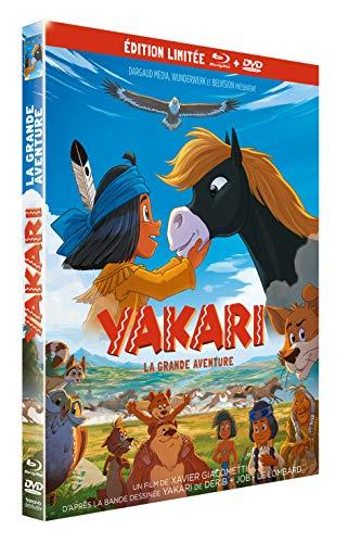 YAKARI, LE FILM Edition limitée - COMBO BLU-RAY + DVD [Combo Blu-ray + DVD - Édition Limitée]