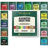 VAHDAM, los mejores surtidos de té 15 diferentes surtidos de bolsas de té de muestras paquete de regalo Paquete de variedades | Lo mejor del té negro, té verde, té Oolong, té de hierbas de la India