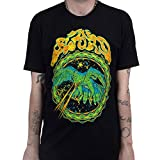 The Sword Men's Lazer Hawk Slim-Fit T-Shirt 3XL Black
