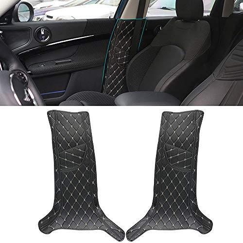 Pilar B lateral de la puerta interior del coche, almohadilla anti-retroceso, protección en la película del borde lateral, cubierta de pegatinas decorativas para Mini Cooper Countryman F60