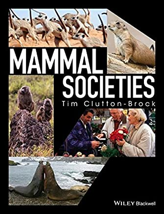 Mammal Societies by Tim Clutton-Brock(2016-05-31)