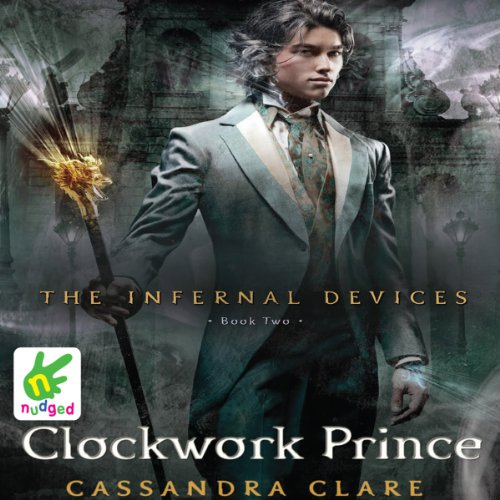 Clockwork Prince audiobook cover art