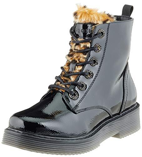 bugatti Damen 432549325969 Kurzschaft Stiefel Stiefeletten, Schwarz (Black/Brown 1060), 42 EU