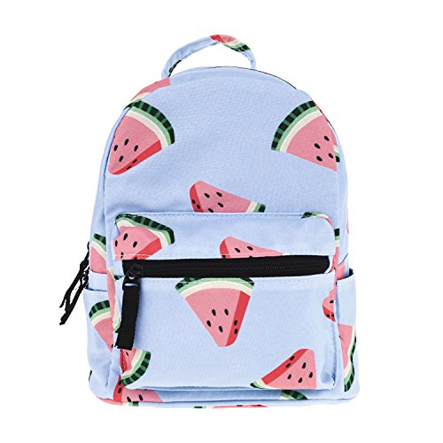 Cute 10 inch mini pack bag backpack for grils children and adult (watermelon)