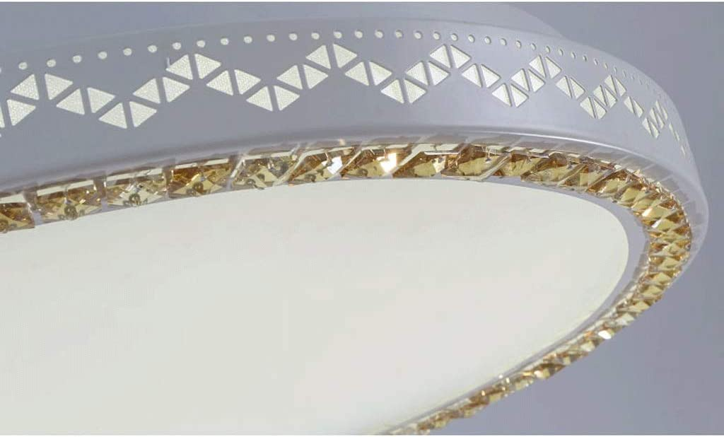 LED Ceiling lamp Creative Bedroom ∅42cm / ∅52cm / ∅60cm / ∅78cm (Color: White Light- (78cm)) Stepless Dimming-(60cm)