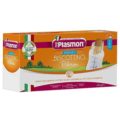 Plasmon Biscottino Biberon, 8 x 600 g