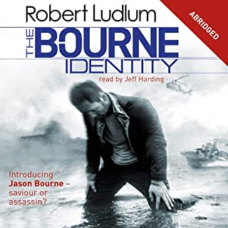 The Bourne Identity cover art