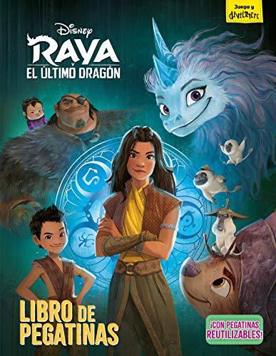 Raya y el último dragón. Libro de pegatinas (Disney. Raya y el último dragón)