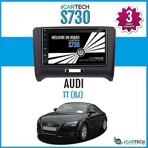 ►ICARTECH 7 Autoradio DVD Player für Audi TT 8J◄ Das bärenstarke Android 4.1 Radio mit GPS Navigation✔Bluetooth✔WiFi✔Multi-Touch Display✔3G✔4G✔ Vorbereitung für: TV (DVB-T) & Digital Radio (DAB+), Dash-Cam (DVR), Apps-Erweiterung wie z.B. GooglePlay, Blitzer.de, Clever Tanken, TuneIn Radio u.v.m, inklusive Wifi Mirroring: iPhone Display Spiegelung + Airplay (ab 4S), Navigationssystem. - S730