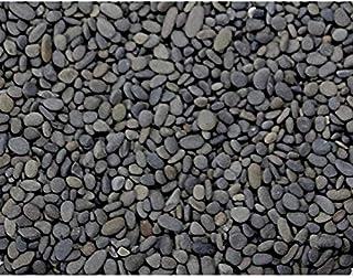 Dymax Pearl Sand for Aquascaping Freshwater Aquaria, Black, 9-12 mm/4 kg