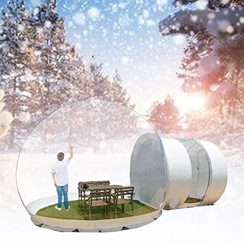 ALTINOVO Zelte Camping & Outdoor Selbstaufblasbare Transparente Aufblasbare Blase Wurfzelte Hohe Innenkabine Camping Zelte Pavillons & Markisen Schloss für Kinder