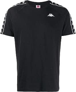 Kappa Luxury Fashion Mens 303UV10C02 Black T-Shirt | Fall Winter 19
