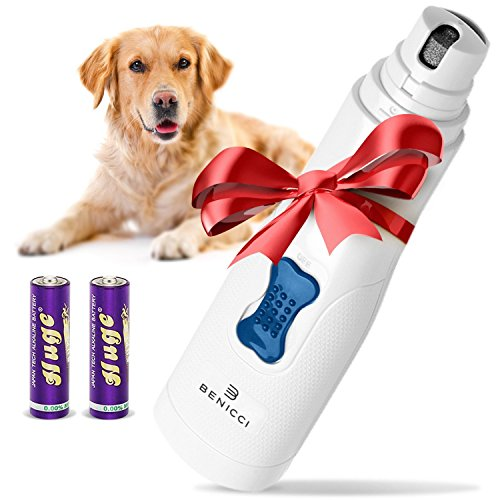 Benicci Premium Pet Nail Grinder by Ideal for Trimming Pet Nails - Completely Painless, Easy and Safe - Durable Design - Great for Cats and Dogs (Small - Medium) - 100%
