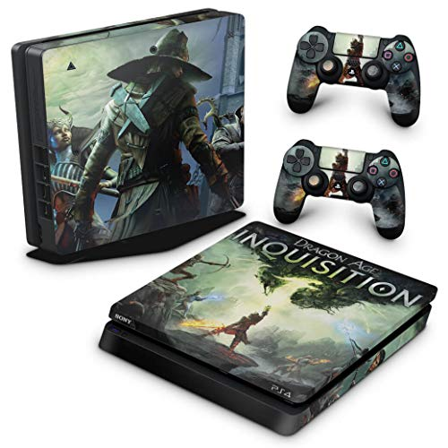 Skin Adesivo para PS4 Slim - Dragon Age Inquisition