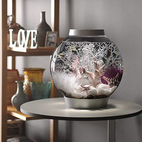 Baby biOrb Kugel Aquarium 15 l – Silber – Design Komplett Aquarium 15 Liter - 3