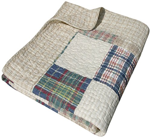 Greenland Home GL-THROWOX Oxford Throws, Multicolor