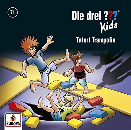 Die drei ??? Kids - Tatort Trampolin, 1 Audio-CD