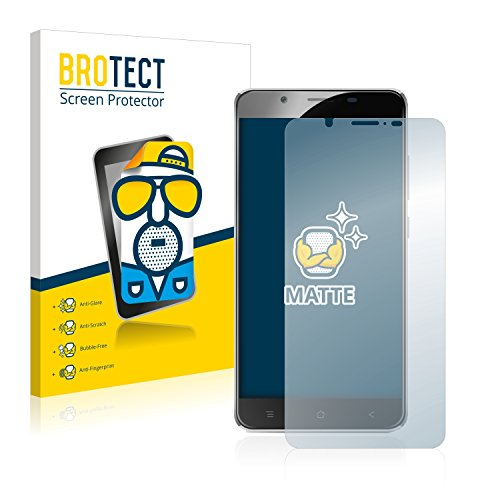 BROTECT 2X Entspiegelungs-Schutzfolie kompatibel mit Blackview P2 Bildschirmschutz-Folie Matt, Anti-Reflex, Anti-Fingerprint