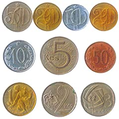 A LIMITED EDITION. 10 RANDOMLY PICKED COINS FROM CZECHOSLOVAKIA. We try to pick as many different coins as we can, but coins set may have some duplicates. You will receive 10 collectible coins bag from 3 different coins periods. Old coins periods: Cz...