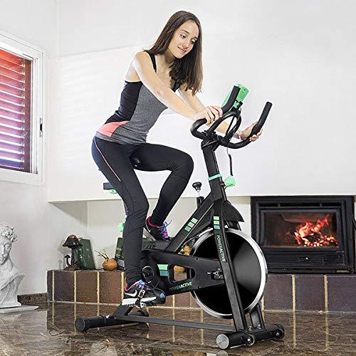 Cecotec Bicicleta Spinning, Volante de...
