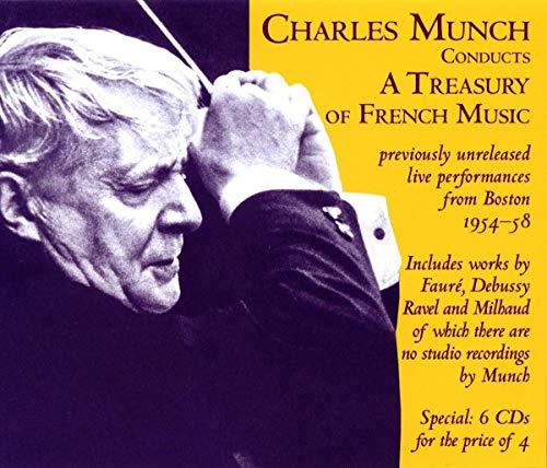 Charles Munch dirigiert französische Meister - Unveröffentlichte Konzertmitschnitte der Jahre 1954-1958