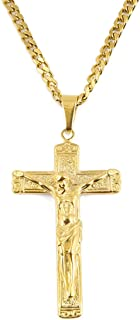 Best gold plated crucifix Reviews