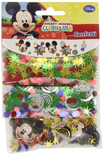 Amscan 995958 Mickey Confettis 3 Types différents
