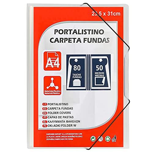 Carpeta Clasificadora 80 Fundas con Portada Personalizable A4