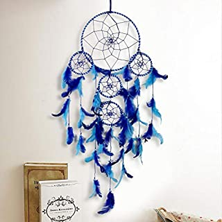 DULI?« Wall Hanging Traditional Indian Wall Art for Bedrooms, Home Wall, Hanging Design, Height 75 cm (Blue),Metal.
