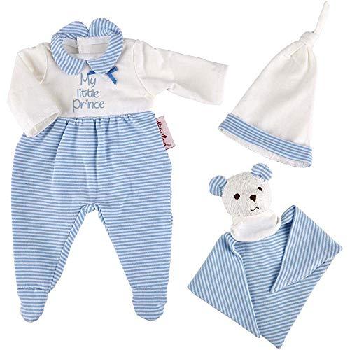 Käthe Kruse 0136822 Schlafanzug Set blau 30-33 cm
