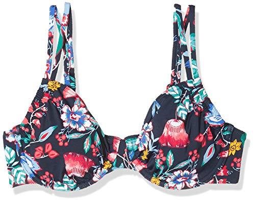 ESPRIT Damen Jasmine Beach uw mf Bikinioberteil, Blau (Ink 415), 85E(Herstellergröße: 42 E)