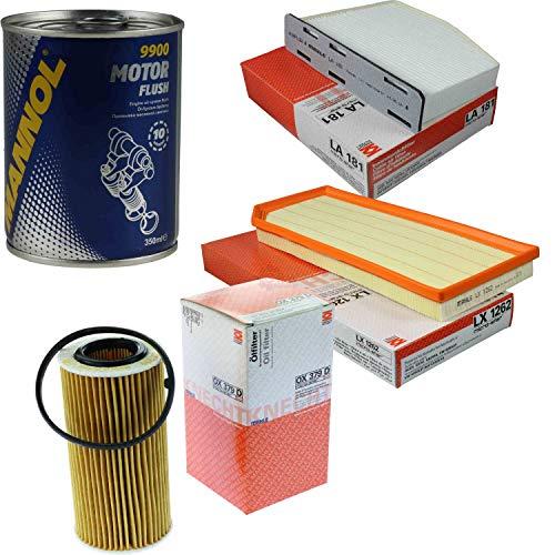 MAHLE/KNECHT Inspektionspaket Filter Set SCT Motor Flush Motorspülung 11604496