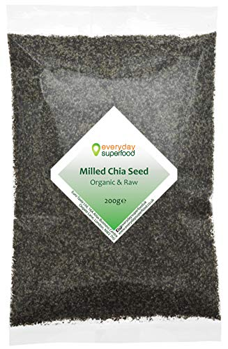 Graines De Chia Moulues Bio 200g Moulue Milled Chia Seeds Organic Chia Seed Meal Ground Chia Seeds a Keto Ingredients Chia Seed Powder Poudre De Graines De Chia